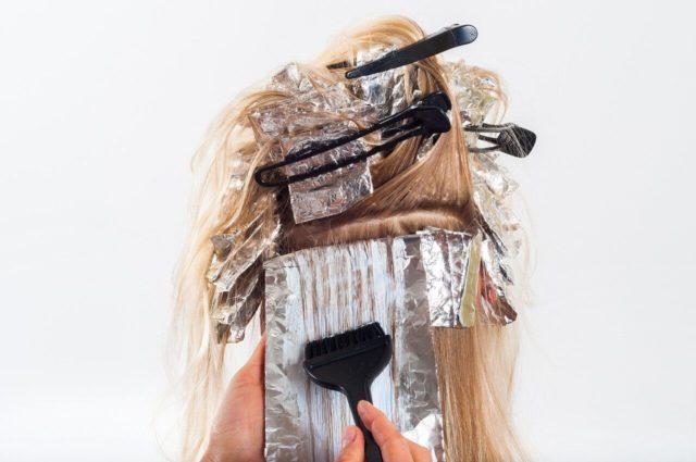 Alufolie Haare