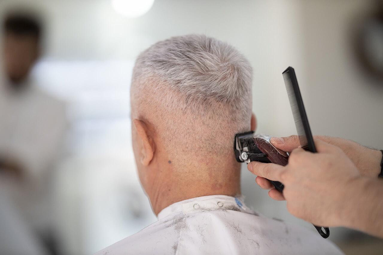 Mann Maschine Haare