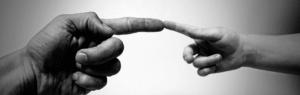 Finger Kontakt