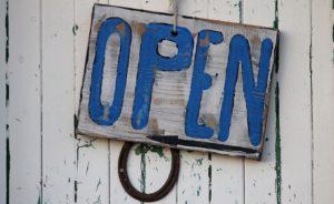 Wir haben weiterhin geöffnet